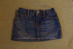 Дуже крута джинсова спідниця baby Gap на12-18міс