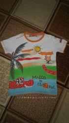 Фирменные футболочки для мальчика на рост 116  польской фирмы  COOL CLUB