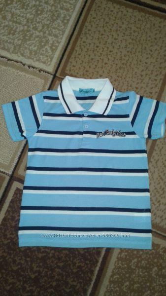 Фирменные футболочки для мальчика на рост 116 -122