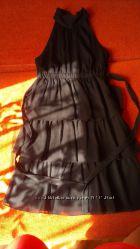 Эффектное, стильное черное платье