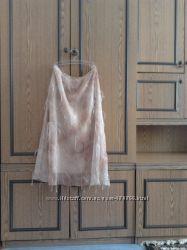 нарядная шифоновая юбка