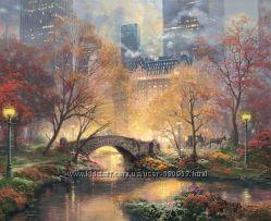 Набор для вышивки крестом Candamar Designs Central Park in the Fall