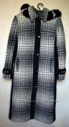 Утепленное пальто Retto р. 44