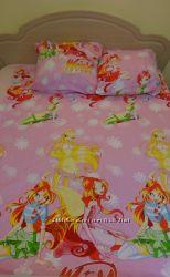 Натуральное постельное белье для деток