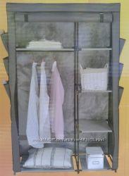 Складной тканевый шкаф на металлическом каркасе.