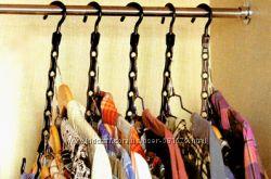 Вешалку органайзер для одежды в шкаф