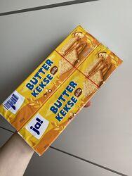 Песочное печенье Ja Butterkekse набор из 2 упаковок по 200g Германия