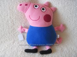 Мягкая игрушка - подушка Свинка Джордж ручная работа