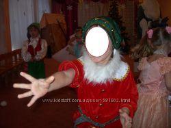 Новогодний костюм гнома на прокат
