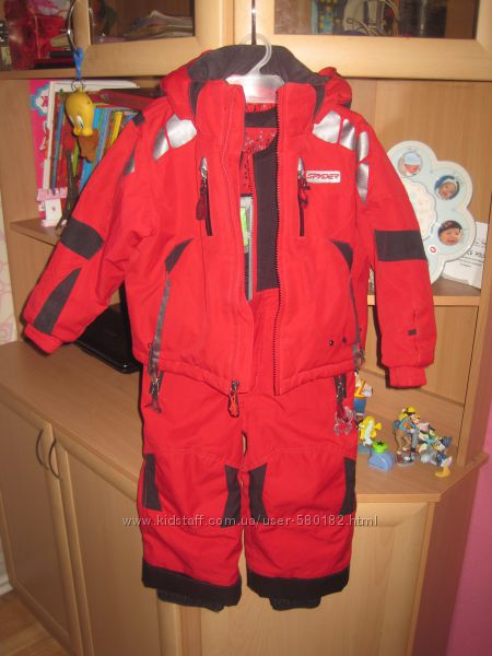 продам  зимний костюм Spyder 3Т  оригинал США