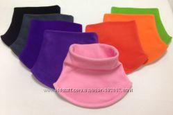 Манишка шарф флисовый, снуд для мальчика, девочки. аналог Mothercare, Новый