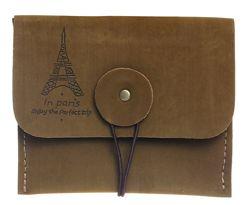 Стильный ретро кошелек винтаж гаманець