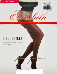 Шелковистые, эластичные колготки Elizabeth Prestige 40 den t-band