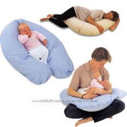 Подушка для беременных и для кормления 2 в 1 в наличии