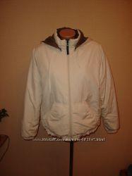 Двухсторонняя куртка Nike, размер M-L, оригинал, сделана в Индонезии  длина