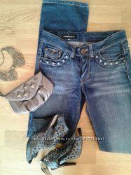 Джинсы Used jeans с Италии на S