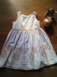 очень красивое летнее бендовое платье  Cherokee 12-18 мес