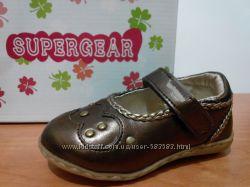 Распродажа Туфли для девочки ТМ SUPER GEAR. Венгрия.
