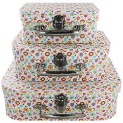 Чемоданы шкатулки коробки для хранения