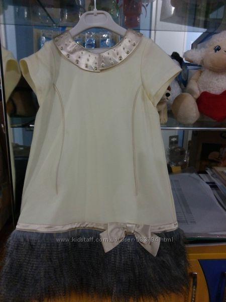 шикарное платье новая коллекция ceremony by wojcik рост 104, 110, 116