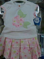 красивый комплект юбка и футболка рост 62, 68, 80, 86 mayoral