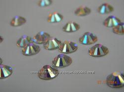 Стразы хрустальные Cristal AB размер ss3, упаковка 1440 шт