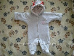 Осенний комбезик для новорожденой