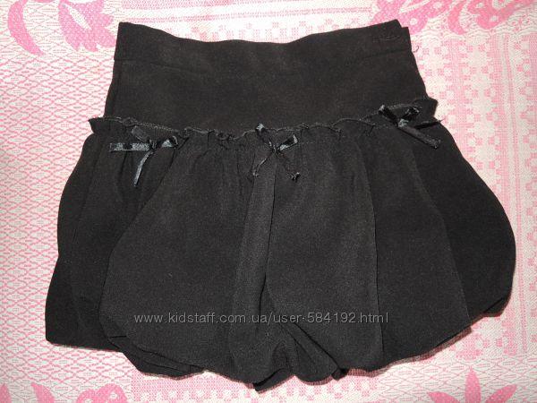 Юбка черная школьная для первокласницы