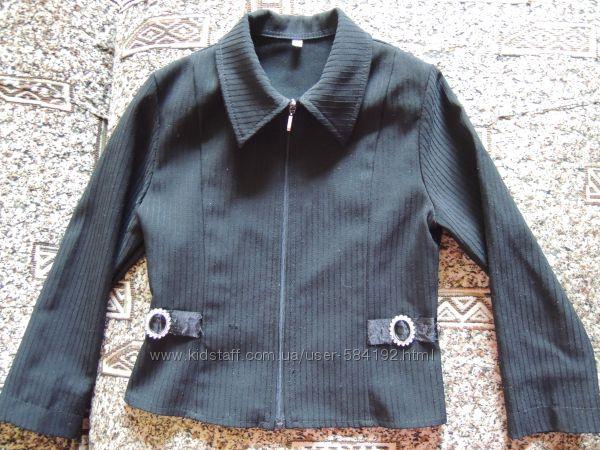 Пиджак школьный черный