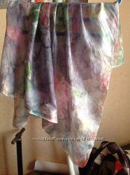 Индийский шелковый платок