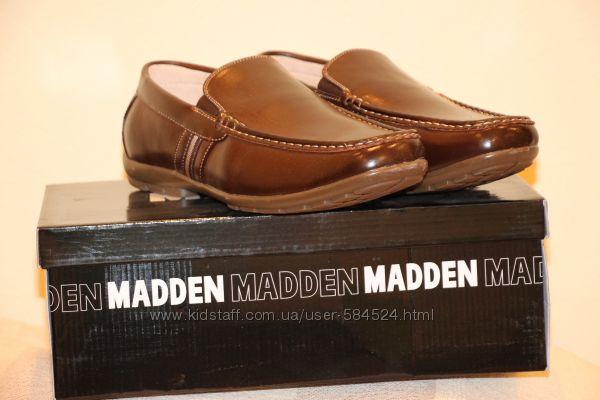 Туфли мокасины Steve Madden оригинал кожа из США р. 43-44