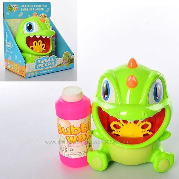 игра с мыльными пузырями динозаврик 9806