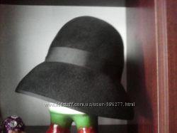 шляпка черная