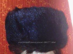 шапка норковая мужская