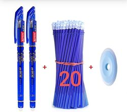 Набор Пиши стирай стирающиеся гелевые стержни, ручки, стирачка,