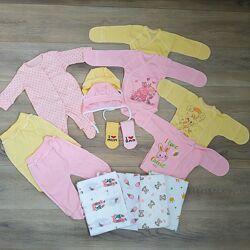 Одяг для немовлят в пологовий 16 предметов