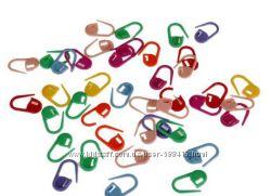 Маркеры, клипсы, счётчики рядов для вязания разноцветные