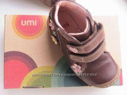 Удобные ботиночки на высокий подъём с защитой носочка Натуральная кожа