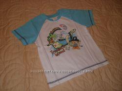 Яркая качественная футболка для мальчика р. 98