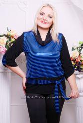 Оригинальная блуза р. 54