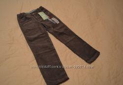Модные брюки вельвет Бемби р. 110
