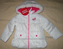 Бомбезная куртка с блестками Белая  Toughskins Оригинал