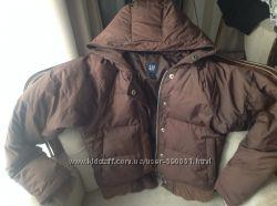 Куртка пуховик  з капюшоном  Gap удобный