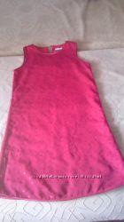 Вечернее красивое красное платье для девочки