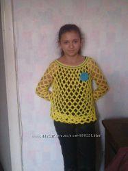 свитер-сетка