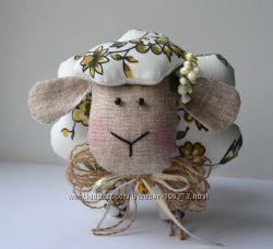 Интерьерная овечка тильда