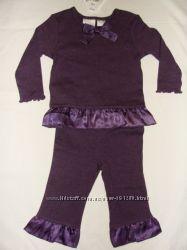 Трикотажный костюмчик для девочки 12М MINIWEAR
