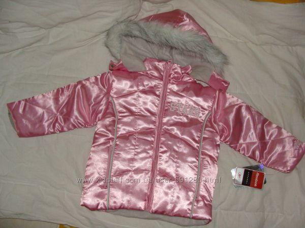 Куртка для девочки REEBOK на 2 3 4 года. Новая оригинал.