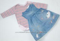Одежки для девочки 0-6мес , часть2