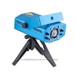 Лазерный проектор, Пульт ДУ. Стробоскоп диско лазер для дискотеки